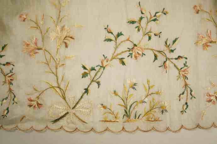 Embroidered petticoat