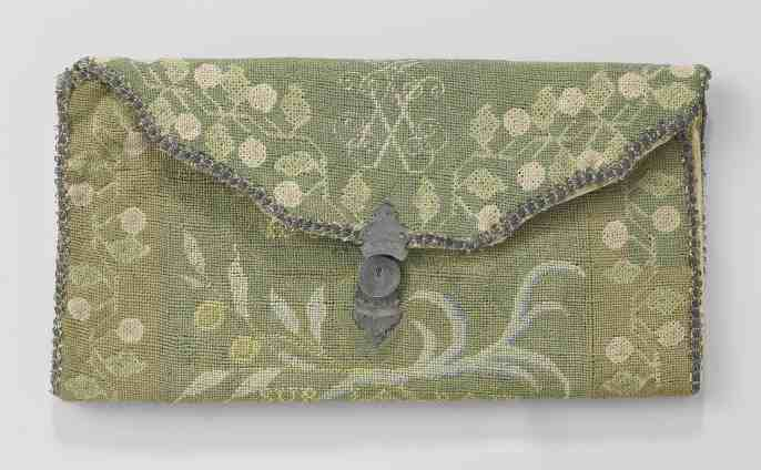 Monogrammed pocketbook
