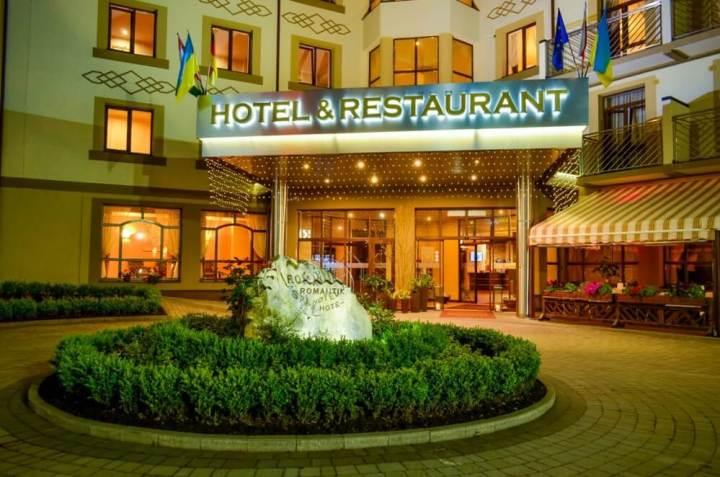 Отель люкс класа в Яремче
