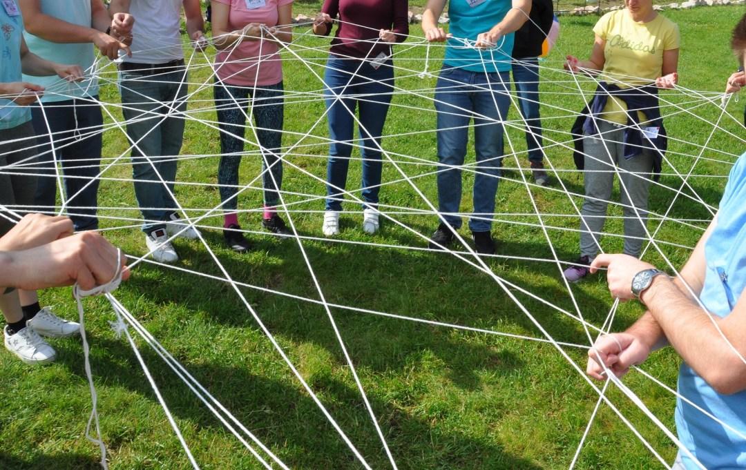 Consolidăm echipe, construim rețele!