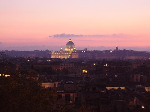 terrazza del Pincio  Roma sensazionale