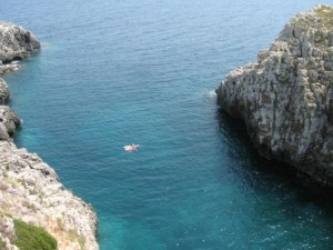 The sea, the sea, the sea!! It's all about the sea in Salento.