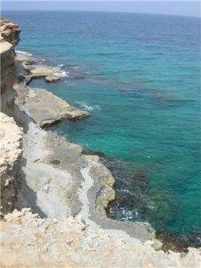 Adriatic Coast of Puglia, Italy.
