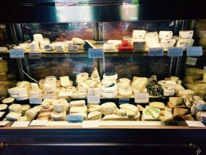 Your perfect picnic cheese choices at Atelier at JCB in Yountville.