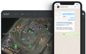 Romware platform for Incident worker localization