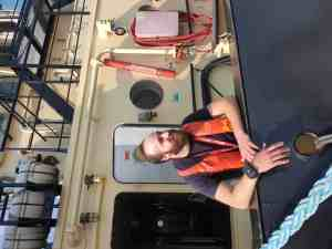 Rombit Romware Covid Radius - sleepboot Port of Antwerp
