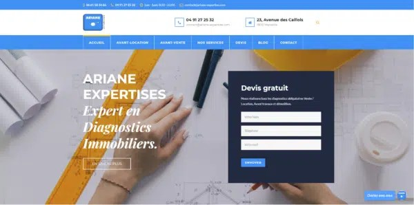 projet site ariane expertises