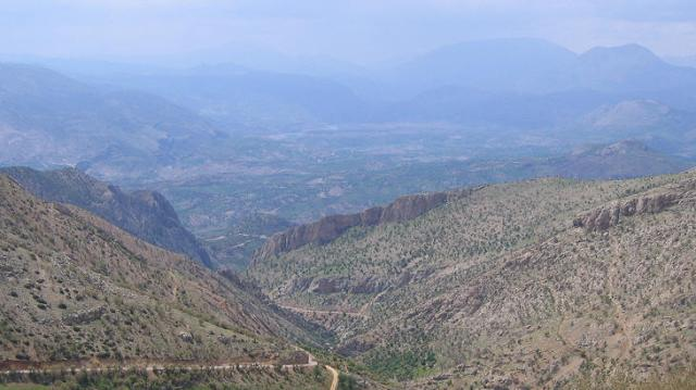 Vista desde el Nemrut Dagi