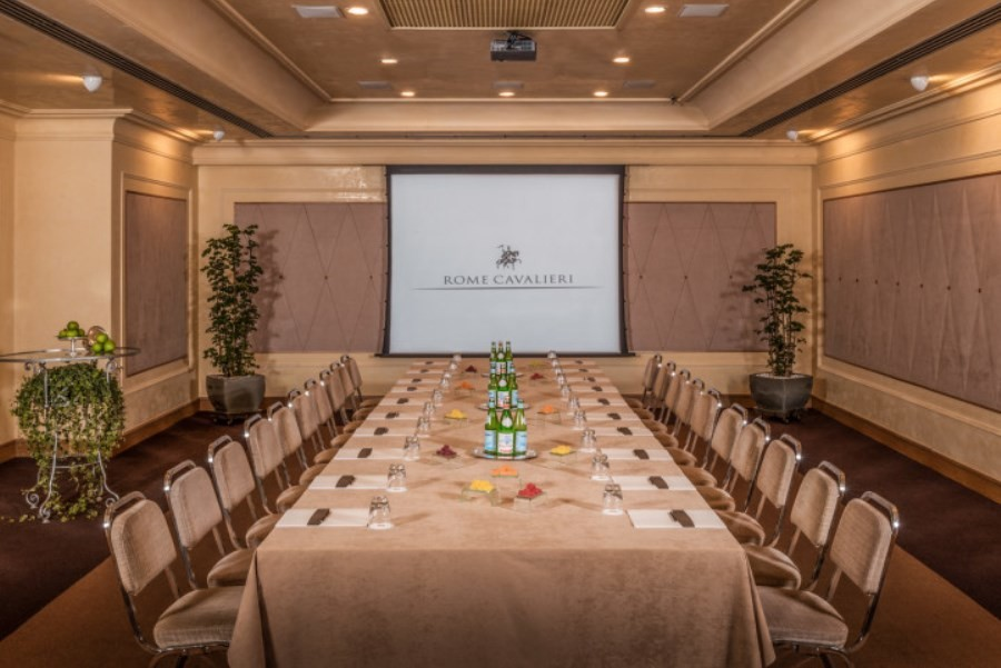Rome Cavalieri Waldorf Astoria  Meetings  Conferenze