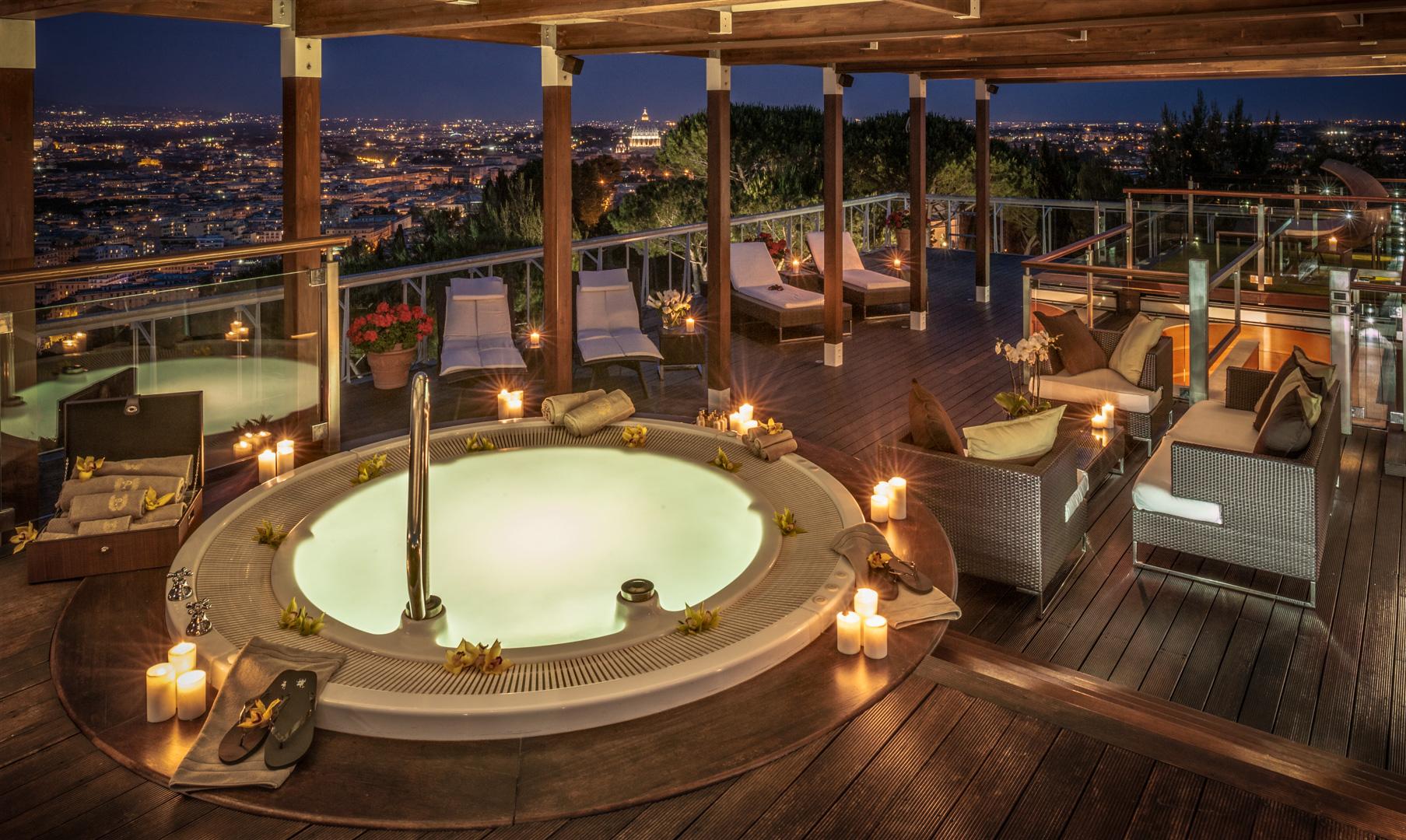 Rome Cavalieri Waldorf Astoria  Planetarium Suite
