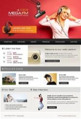 radio online template1