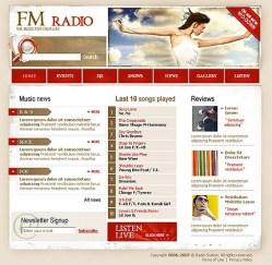 radio online template10