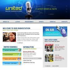 radio online template8