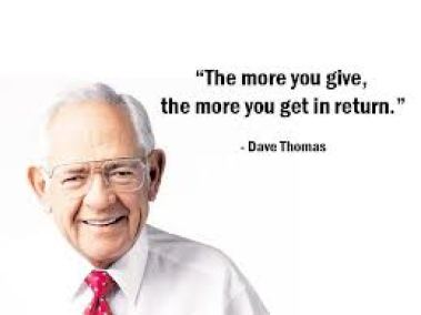 The More You Give, The More You Get in Return