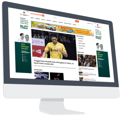 Bloggingpro WP News Theme