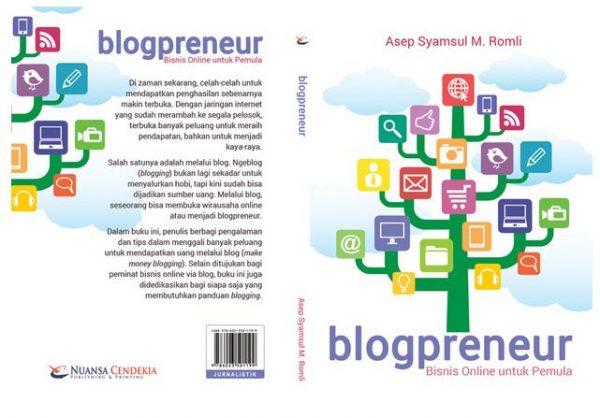 Cover Buku Blogpreneur
