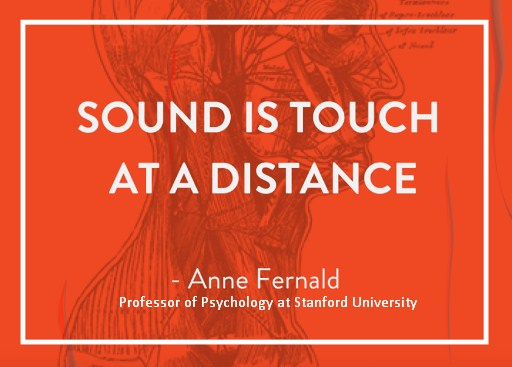 Sound is touch at a distance