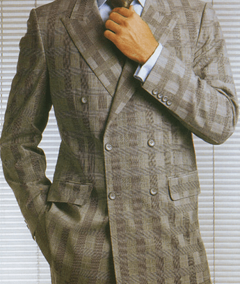 Men's Double Breasted Suit by a custom tailor based in Bangkok, Thailand