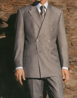 Men's Double Breasted Suits