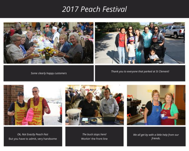 2017 Peach Festival