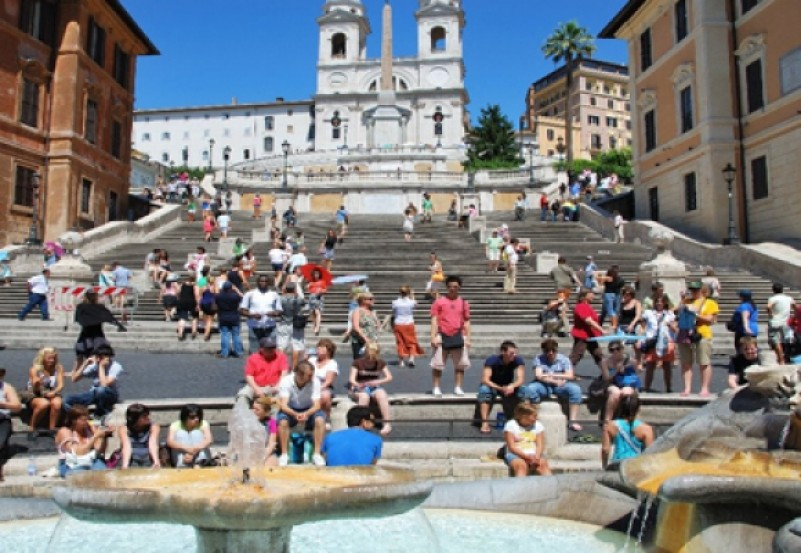 Image result for the spanish steps