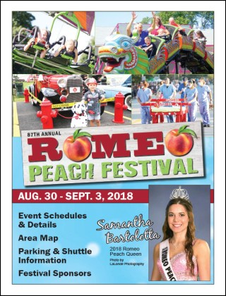 Romeo Peach Festival Craft Show