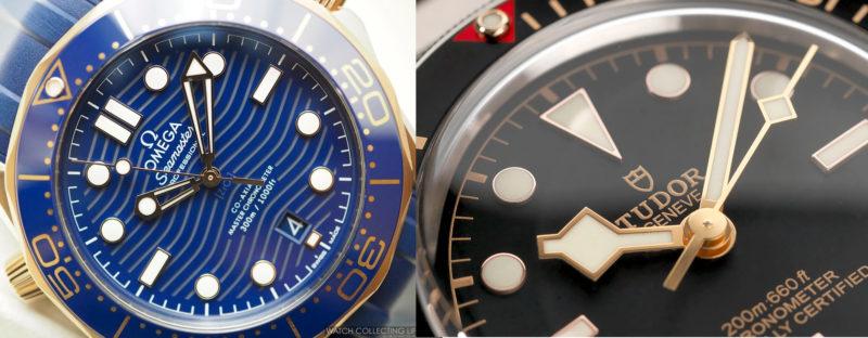Omega Seamaster 300m vs Tudor Black Bay: Two old rivals - Romeo's watches