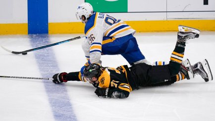 Bruins beat Sabres 3-2 in shootout in Hall's debut | Rome Daily Sentinel