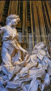Estasi di Santa Teresa, Gianlorenzo Bernini, chiesa di Santa Maria della Vittoria
