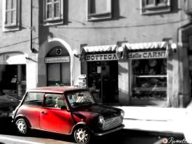 Classic Milan Mini Cooper, Italy