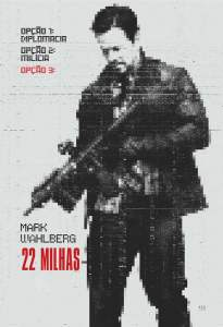 """Poster for the movie """"22 Milhas"""""""