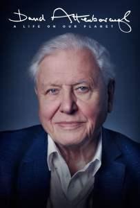 """Poster for the movie """"David Attenborough: Uma Vida no Nosso Planeta"""""""