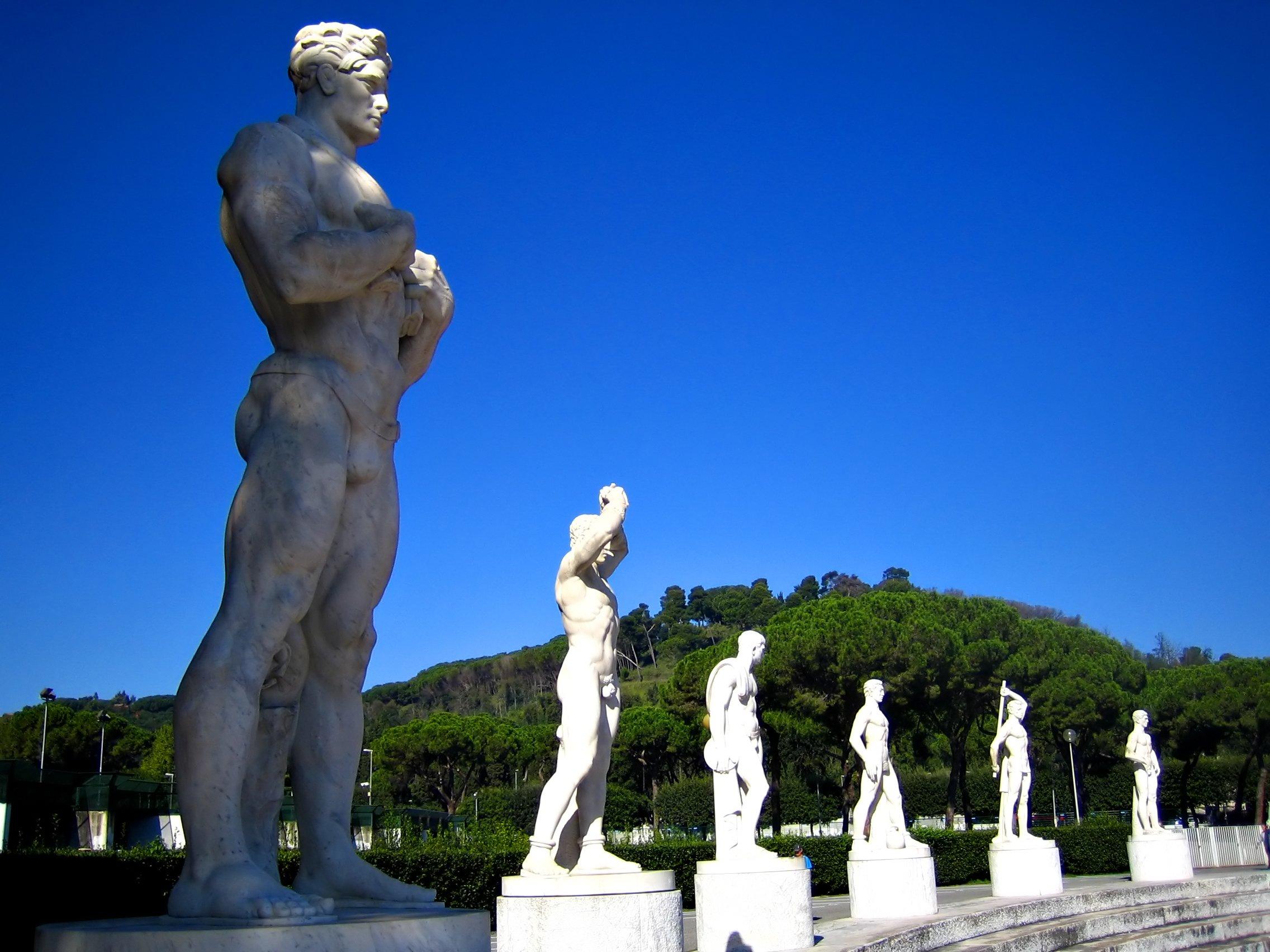 Where can I run in Rome?