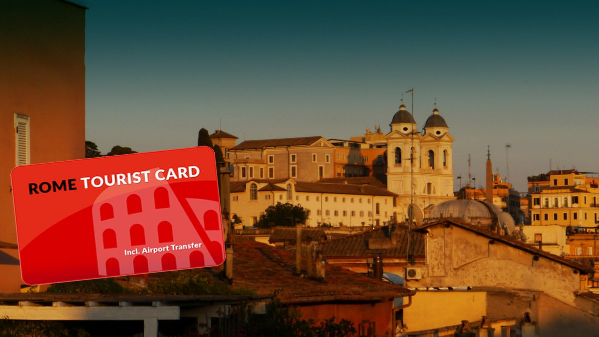 Rome Tourist Card – the only discount card that doesn't expire