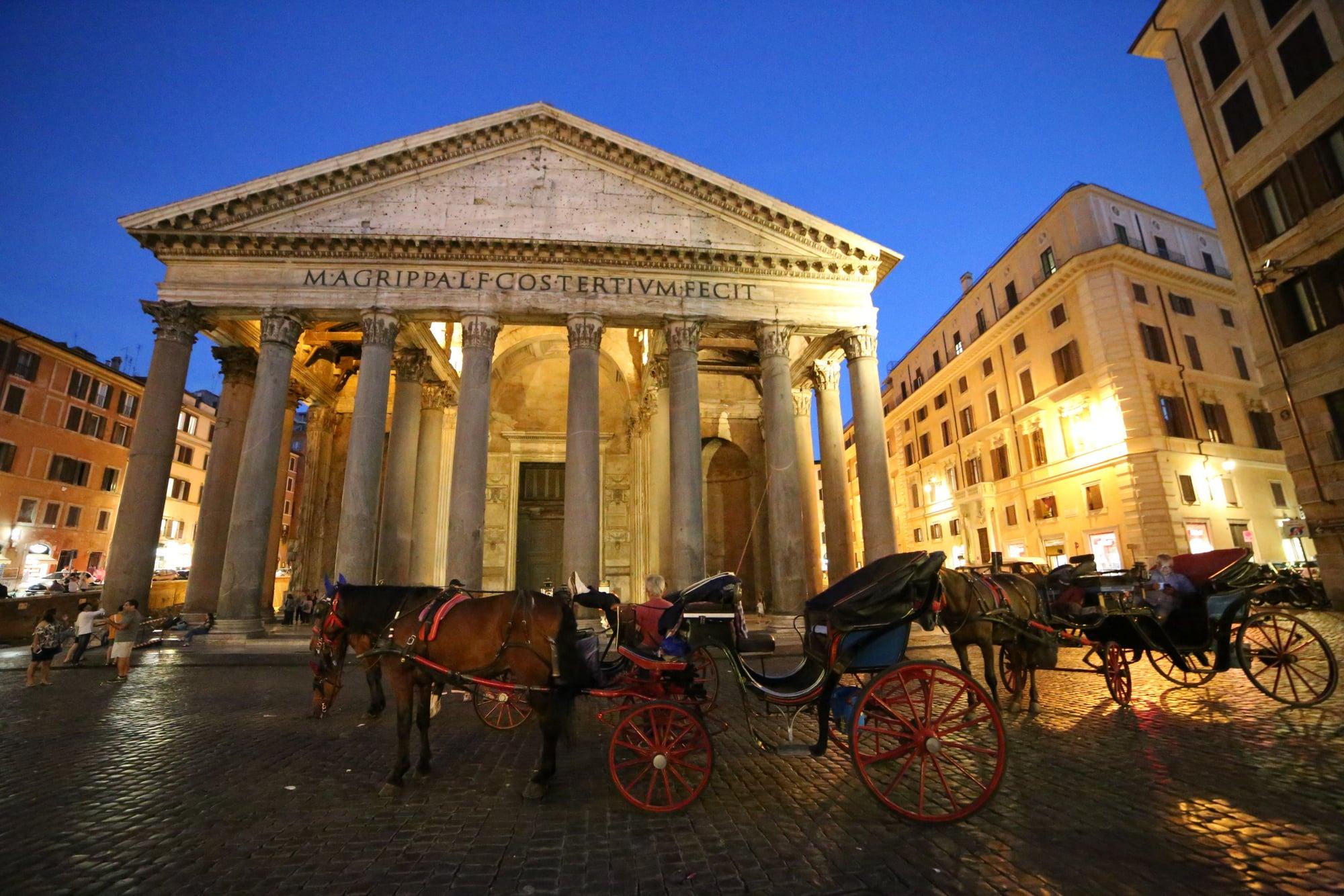Short tour of the Pantheon