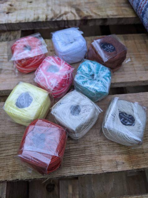 Perle cottons - only a few colours left - £1.00 each