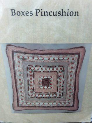 Boxes pincushion - Pattern only 25p
