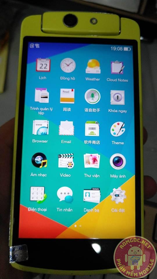 Rom tiếng việt, CH Play cho Oppo N1 mini N5117