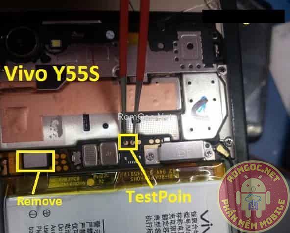 Testpoint Vivo Y55S Edl qualcomm 9008