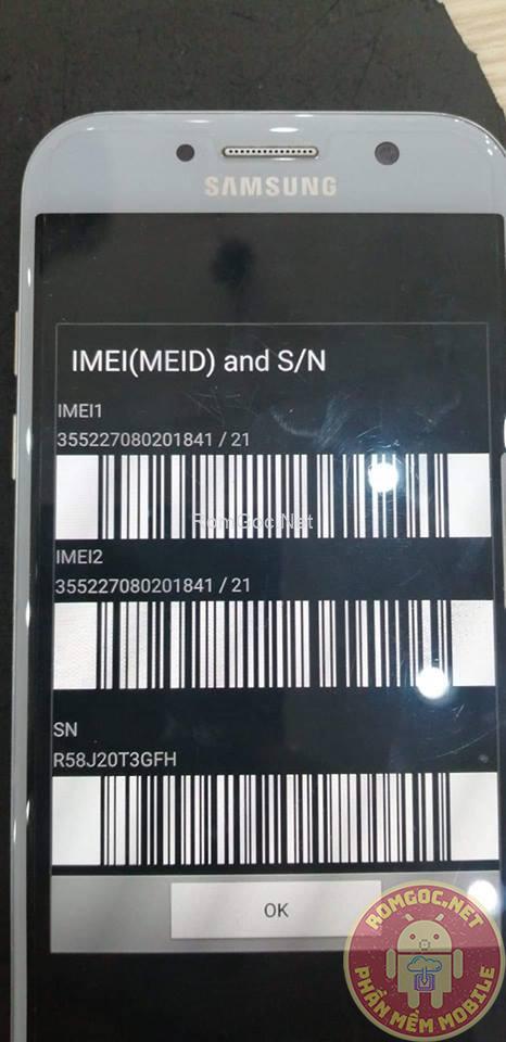 ROM 2 SIM A5 2017 SM-A520W   A520W 2 SIM THÀNH CÔNG (knox 0x1)
