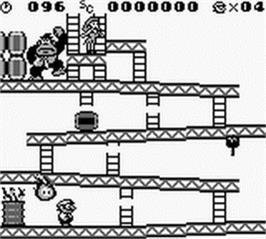 Donkey Kong (V1.0) (JU) [S][!] ROM Download for Gameboy
