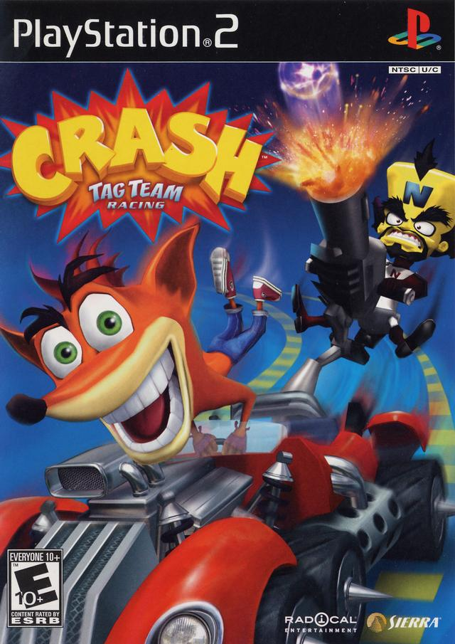 Crash Tag Team Racing (USA) ROM / ISO Download for PlayStation 2 (PS2) - Rom Hustler