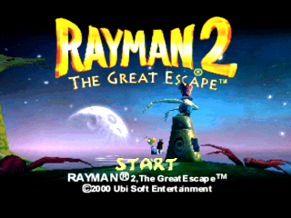 Rayman 2 The Great Escape U SLUS 01235 ROM ISO