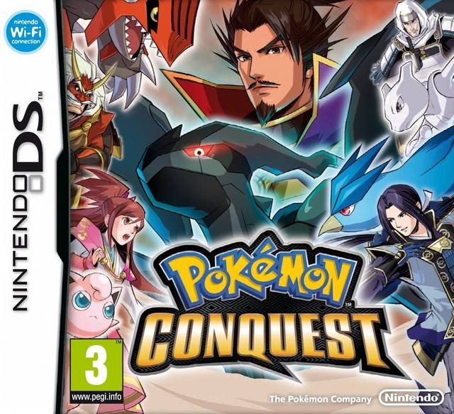 Pokemon Conquest (Europe) (NDSi Enhanced) ROM Download for Nintendo DS (NDS) - Rom Hustler