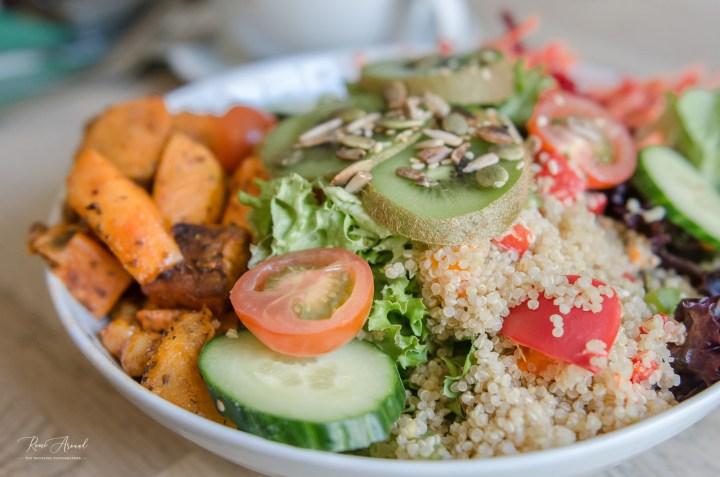Salad Cornish Vegan Cornwall Restaurant