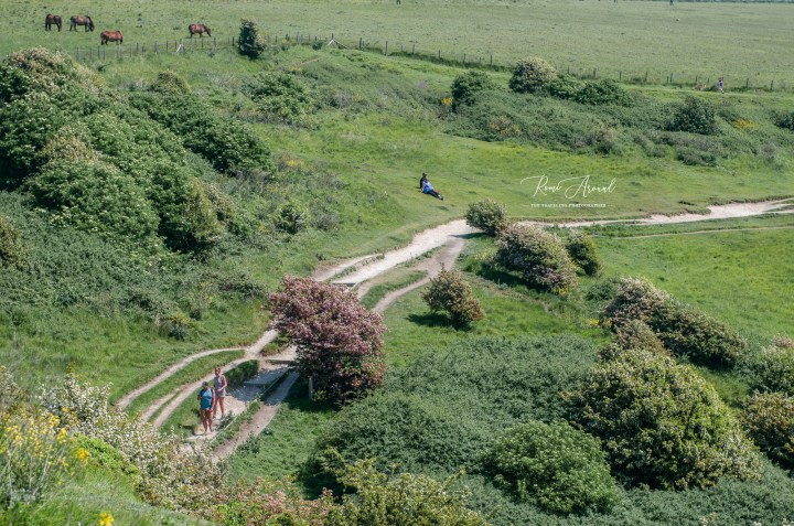 UK Dover White Cliffs Hike