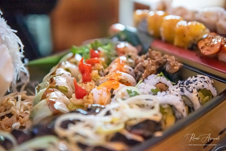 Legumi Sushi 40-piece platter