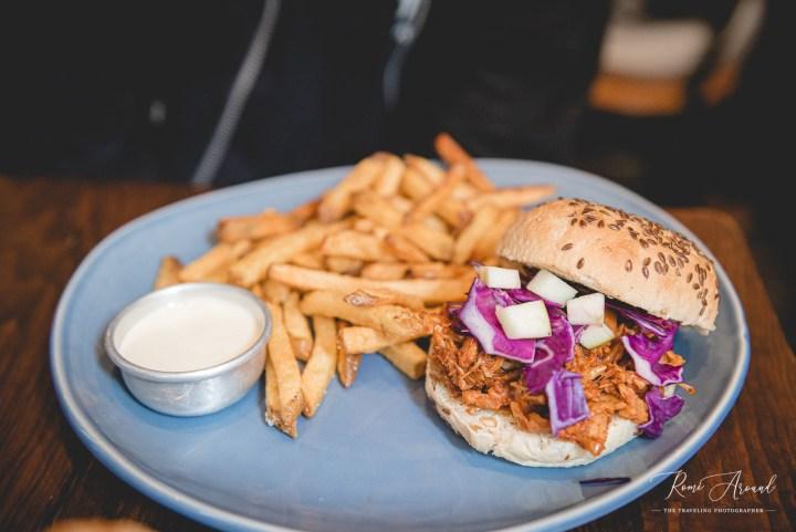 Vegan Junkies Nothing But a J Thang burger