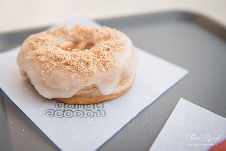 Scoop 'n Dough Apple Pie doughnut