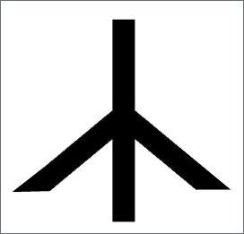 runa simbolo pace